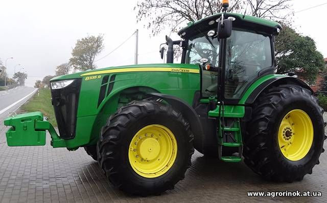 Трактор производства JohnDeere 8335. Купить трактор.